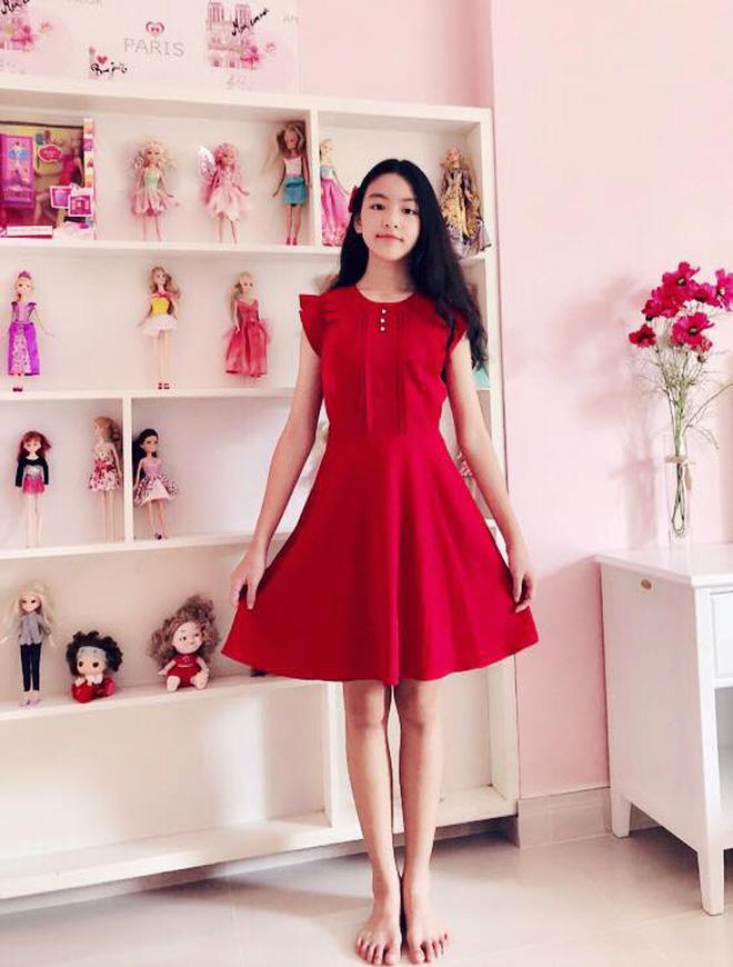 Con gái nhà sao Việt thừa hưởng nhan sắc từ bố mẹ, dự đoán là hoa hậu tương lai - Ảnh 1