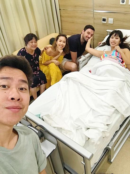 Siêu mẫu Hà Anh hạ sinh con gái đầu lòng nặng 4,4 kg - Ảnh 2