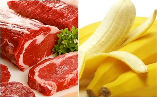 Thực đơn với thịt bò và chuối tiêu tốt cho người tập gym - Ảnh 1