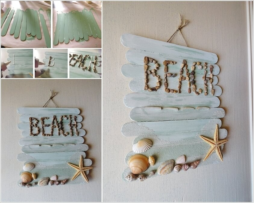 Ý tưởng trang trí tường nhà sáng tạo lấy cảm hứng từ biển - Ảnh 12