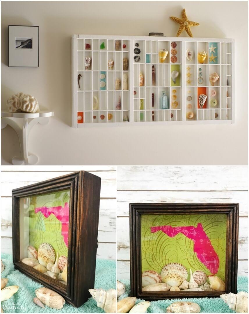 Ý tưởng trang trí tường nhà sáng tạo lấy cảm hứng từ biển - Ảnh 6