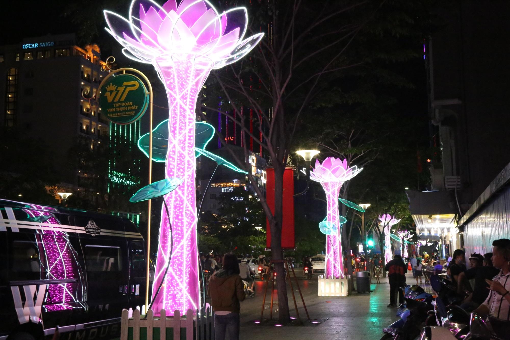 Hàng triệu người dân Sài Gòn xuống phố đón màn pháo hoa rực rỡ mừng năm mới 2019 - Ảnh 19