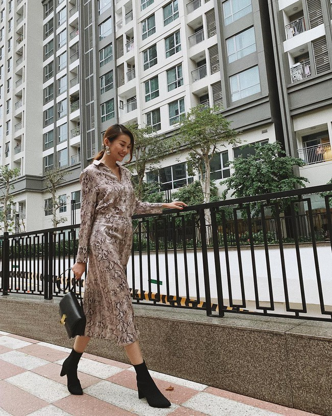 Sao Việt nổi bật với street style cuối năm: Mai Phương Thúy khoe chân dài với mốt giấu quần, Hà Tăng đẳng cấp khi diện maxi - Ảnh 10