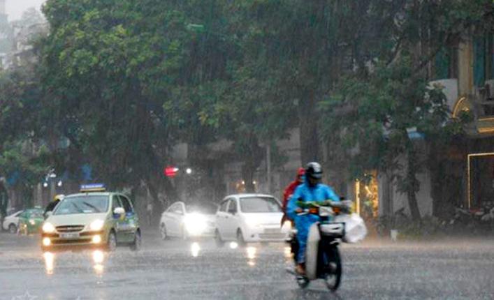 Dự báo thời tiết 3 ngày tới 2-4/4: Nam bộ mưa rào và dông - Ảnh 1