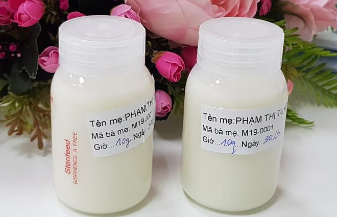 Người đầu tiên hiến sữa cho ngân hàng sữa mẹ tại TP HCM - Ảnh 1