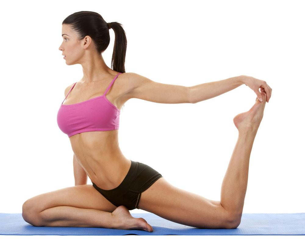 Tập Yoga giảm mỡ bụng đáng kể cho các chị em