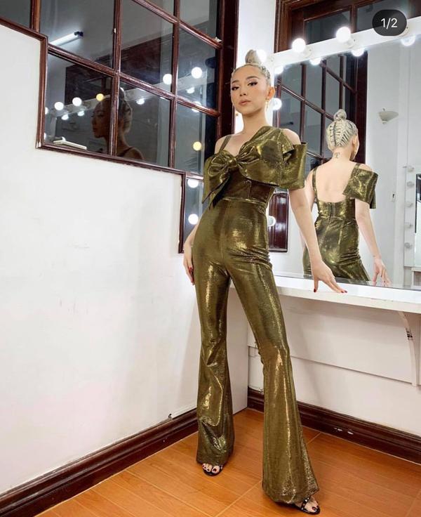 Hà Tăng, Tóc Tiên cùng loạt sao Việt 'thả dáng sành điệu' với quần ống loe - Ảnh 6