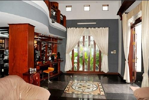 'Hoa mắt' với căn nhà 2 triệu đô ngập đầy gỗ quý của Lý Hải - Minh Hà - Ảnh 5
