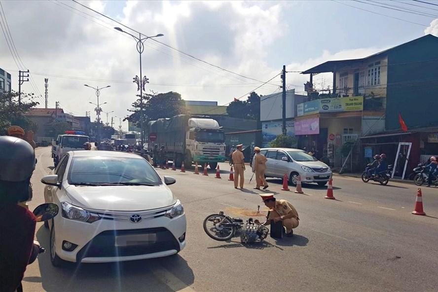 Tai nạn giao thông giảm mạnh trong dịp Tết Nguyên đán Kỷ Hợi - Ảnh 1