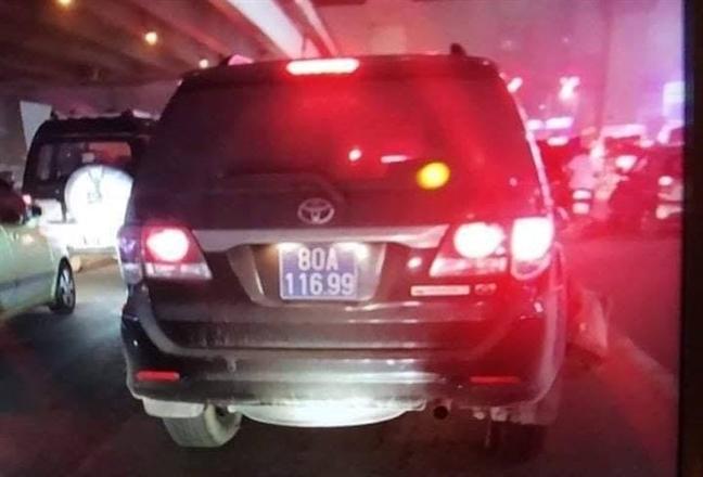 Tài xế ô tô biển xanh gây tai nạn bỏ chạy đã ra trình diện - Ảnh 2