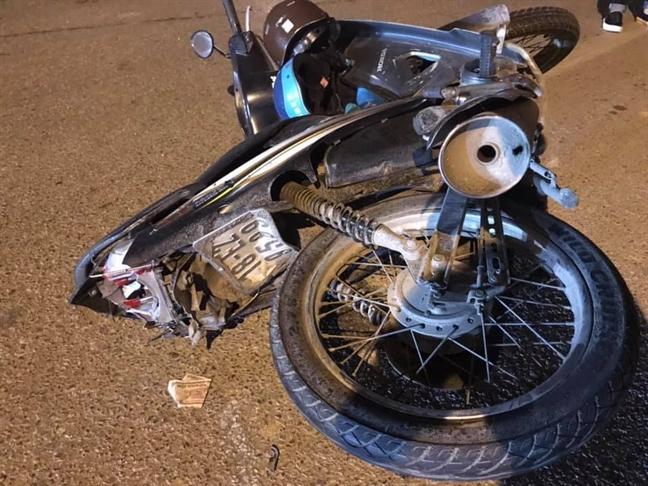 Tài xế ô tô biển xanh gây tai nạn bỏ chạy đã ra trình diện - Ảnh 1