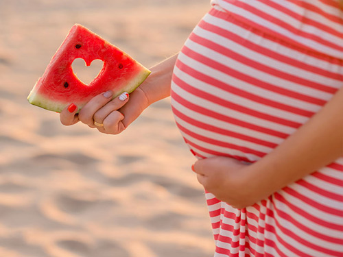 Mẹ bầu ăn dưa hấu nhiều tốt cho sức khỏe