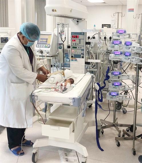 Phẫu thuật tim tại giường bệnh cho bé gái sơ sinh chỉ nặng 600 gram - Ảnh 3