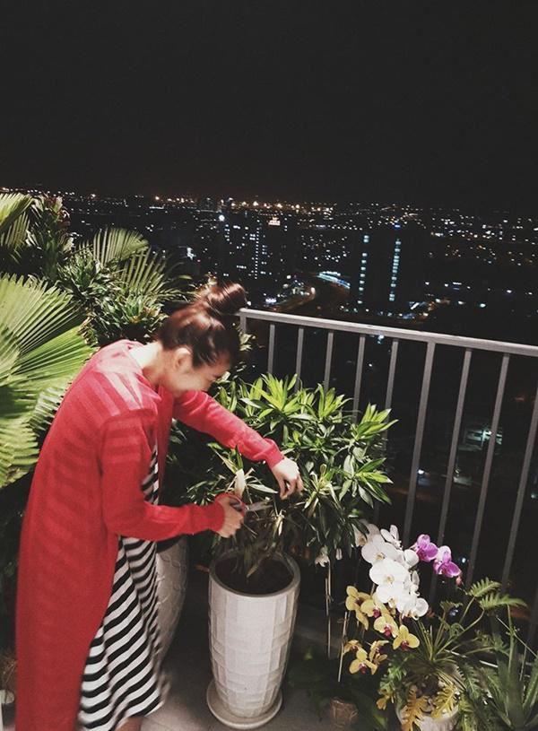 Cận cảnh căn hộ Thanh Hằng đang sống.