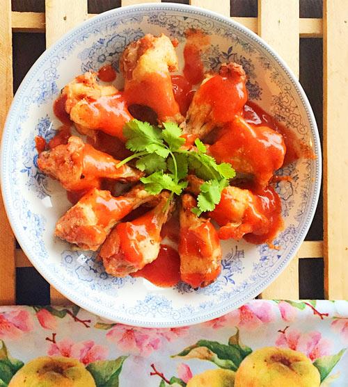 Cánh gà chiên sốt chua ngọt ngon cơm - Ảnh 3