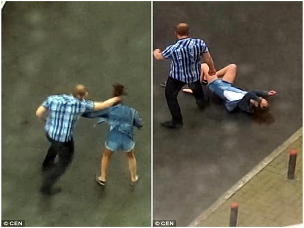 Phẫn nộ clip người đàn ông hung hãn đánh bạn gái dã man sau khi dỗ dành bất thành - Ảnh 2