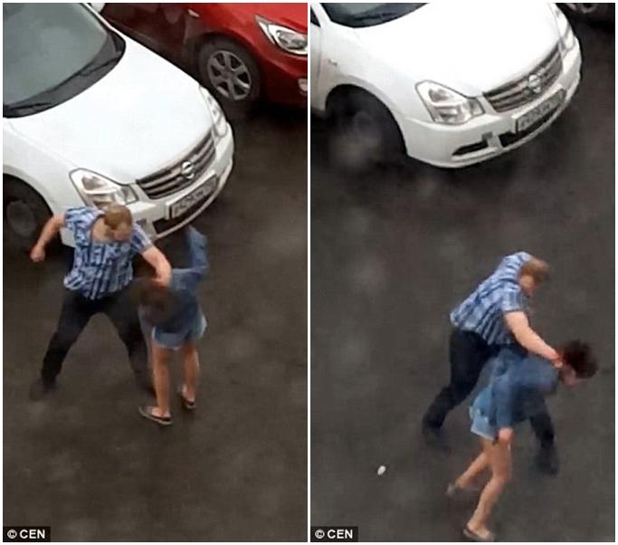 Phẫn nộ clip người đàn ông hung hãn đánh bạn gái dã man sau khi dỗ dành bất thành - Ảnh 1
