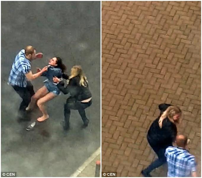 Phẫn nộ clip người đàn ông hung hãn đánh bạn gái dã man sau khi dỗ dành bất thành - Ảnh 3
