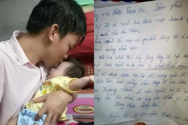 Bé trai 20 ngày tuổi bị bỏ rơi trong thùng giấy bên đường tại Nghệ An