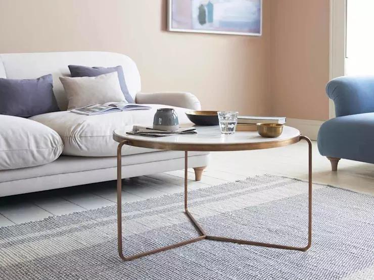 10 mẫu bàn trà tinh tế dành cho nội thất phòng khách nhỏ - Ảnh 4
