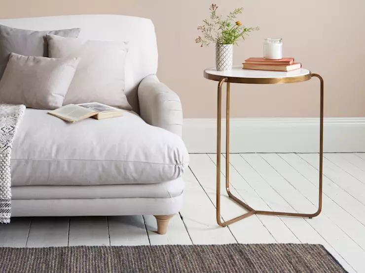 10 mẫu bàn trà tinh tế dành cho nội thất phòng khách nhỏ - Ảnh 5