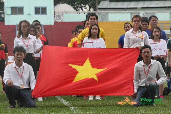 Khai mạc giải bóng đá toàn quốc PRESS CUP lần thứ IV khu vực TP.HCM - Ảnh 2