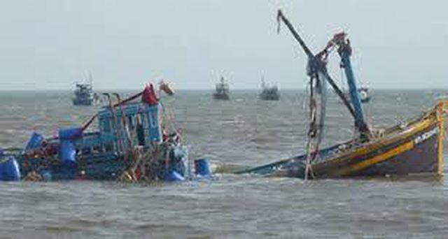 Hải Phòng:  Khẩn trương tìm kiếm 10 thuyền viên mất tích trong vụ tàu cá bị chìm trên biển - Ảnh 1