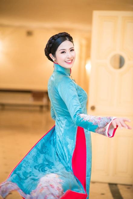Hoa hậu Ngọc Hân vẫn quyết tâm 'im lặng' trước tin đồn sắp đám cưới