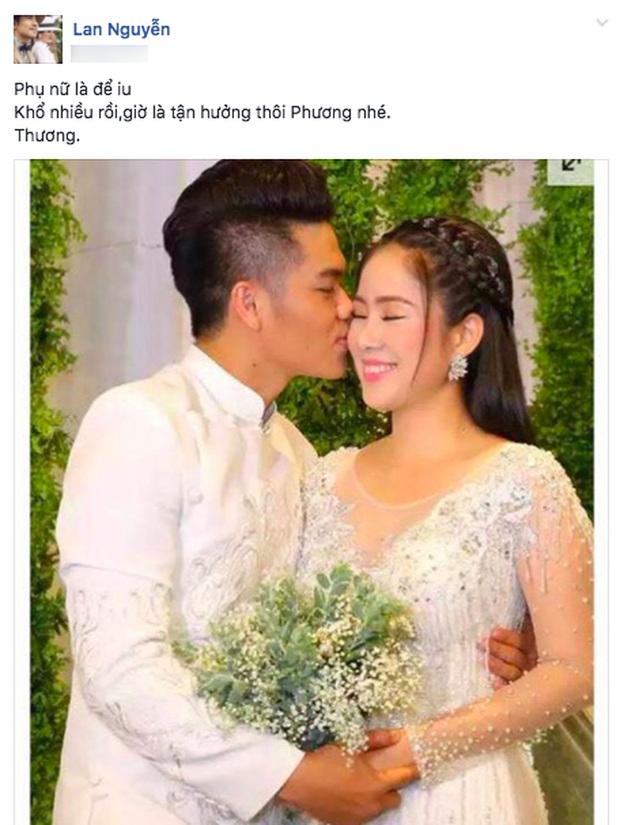 Anti-fan 'đá xéo' hôn nhân của Lê Phương và chồng trẻ: Choáng với hành động của 'Kiều nữ' Ngọc Lan khi bênh vực hạnh phúc cặp đôi - Ảnh 1