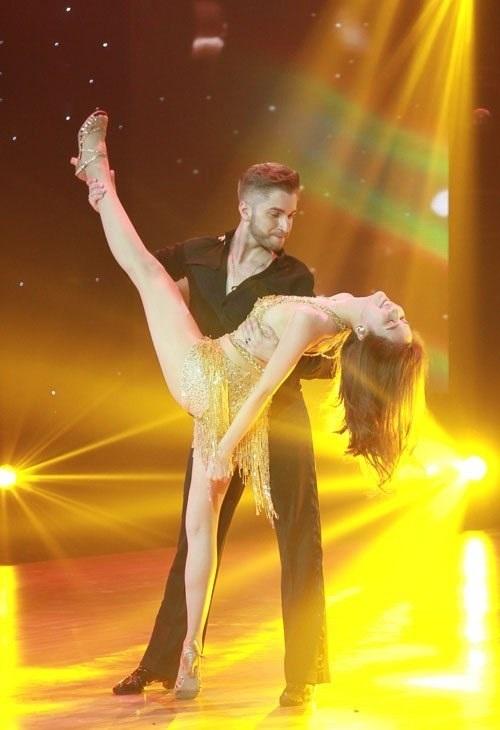 Ngọc Trinh làm khách mời trong chương trình Bước nhảy hoàn vũ 2016 - Ảnh: Internet