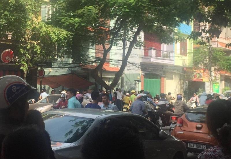 Giận vợ không cho kinh doanh, người đàn ông Hàn Quốc treo cổ tự tử giữa đường phố Hải Phòng - Ảnh 2