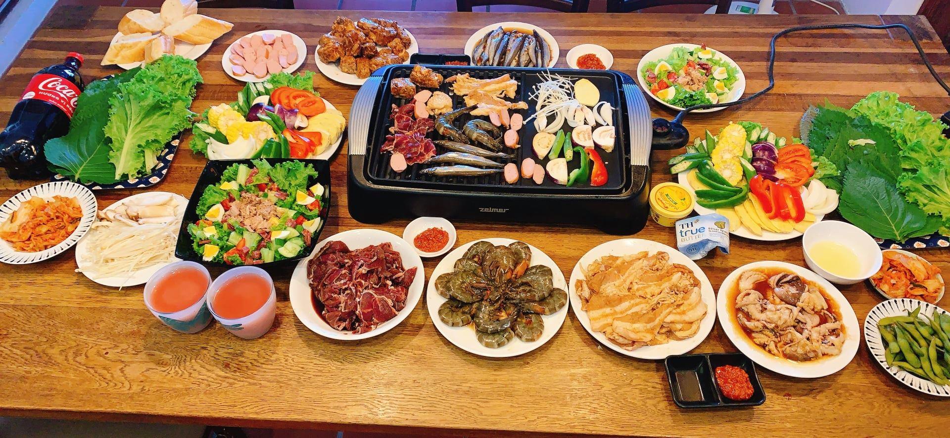 Mát trời lạnh lạnh ngồi cạnh bàn nướng thịt nướng Hàn Quốc cùng chai rượu thì cứ gọi là hết ý  - Ảnh 5