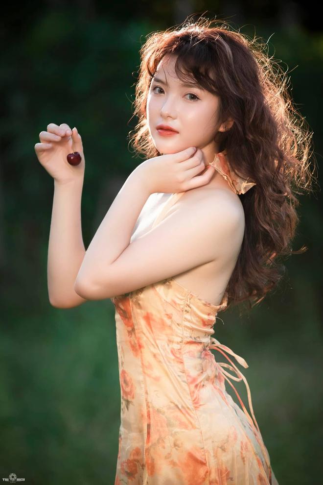 Hot girl Thái Nguyên với nhan sắc đốn tim bao chàng từ cái nhìn đầu tiên - Ảnh 6