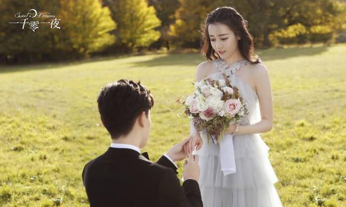 Những lần hóa 'tân nương' của Địch Lệ Nhiệt Ba: Đẹp thế này ai cũng muốn cưới về làm vợ! - Ảnh 12