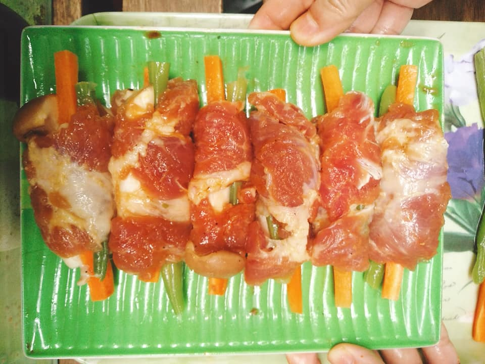Chống ngấy với thịt cuộn rau củ thơm ngon đậm đà hương vị Hàn Quốc - Ảnh 4
