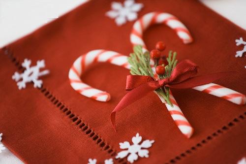 Nhắc đến Giáng sinh thì không thể quên những chiếc kẹo gậy xinh xẻo