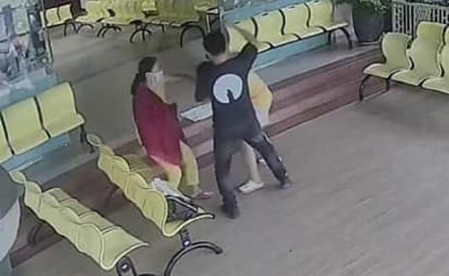 Tài xế beCar hành hung sản phụ ôm bé sơ sinh trên tay ngay bệnh viện phụ sản Mekong - Ảnh 1