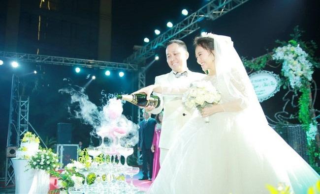 Ngọc Trinh, Vũ Khắc Tiệp cùng loạt sao Việt dự lễ cưới của Nhật Thủy Idol và bạn trai đại gia hơn 14 tuổi - Ảnh 2