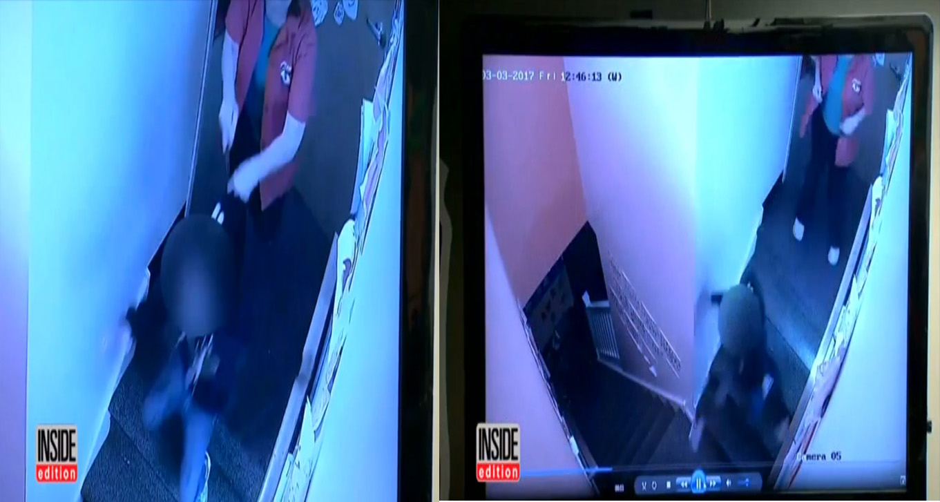 Cô giáo trông trẻ  xô bé gái 4 tuổi ngã dúi dụi xuống cầu thang - Ảnh 2
