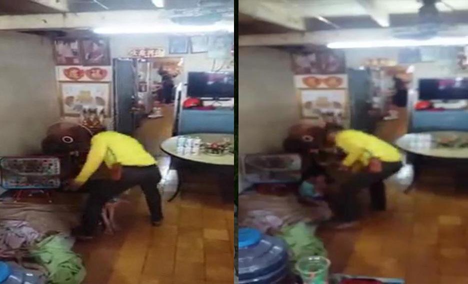 Phẫn nộ clip cha đánh đập dã man con trai 5 tuổi - Ảnh 1
