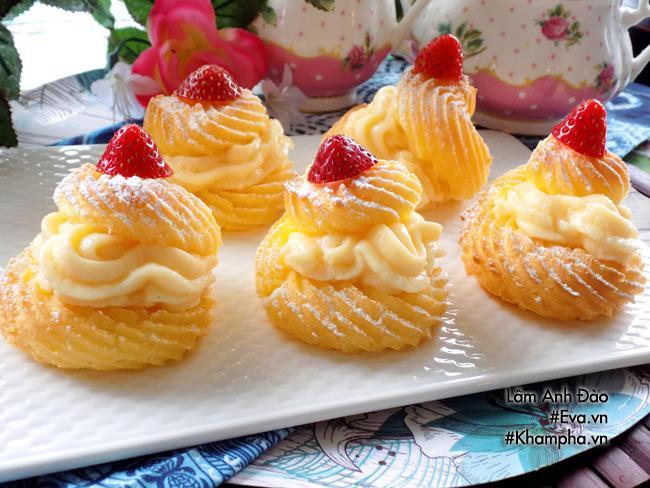 Cách làm bánh su kem đơn giản lại ngon mát đảm bảo ai ăn cũng thích - Ảnh 5