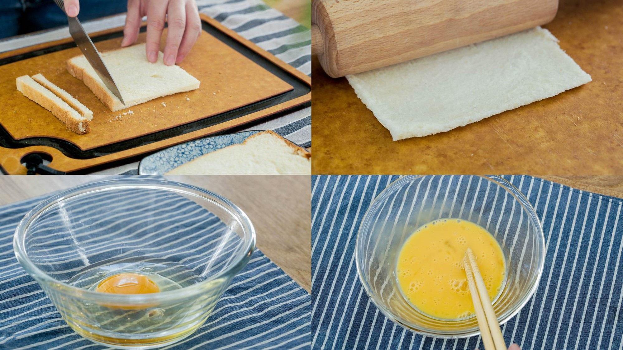 Bữa sáng ngon đẹp hết nấc với bánh mì cuộn chuối - Ảnh 1