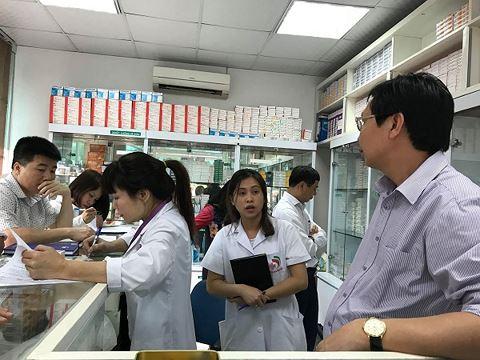 Phát hiện nhiều thuốc hết hạn, kém chất lượng tại nhà thuốc Bệnh viện Trí Đức và Bệnh viện Đông Đô - Ảnh 1