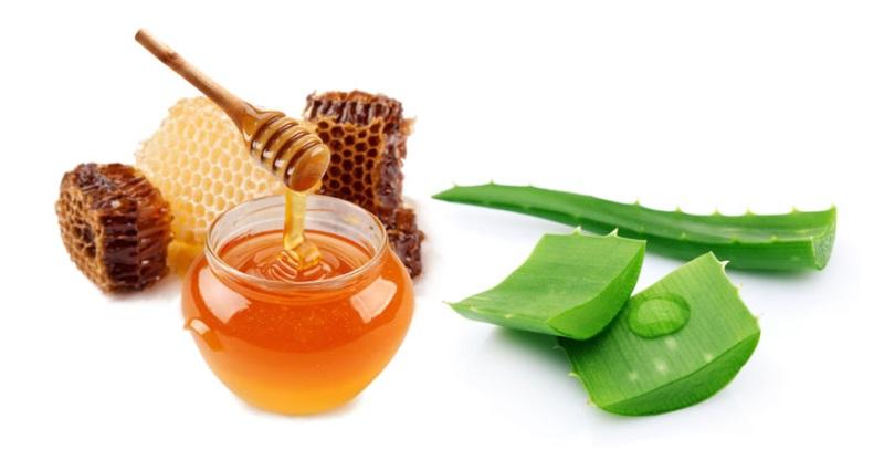 Cách làm đẹp da bằng nha đam và mật ong