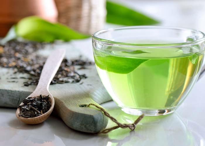 Nước trà xanh giúp làm đẹp tự nhiên an toàn, da sáng mịn, sạch mụn thích hết ý
