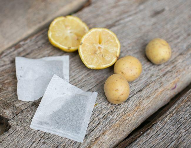 Nhuộm tóc tự nhiên tại nhà bằng chanh, khoai tây và trà hoa cúc