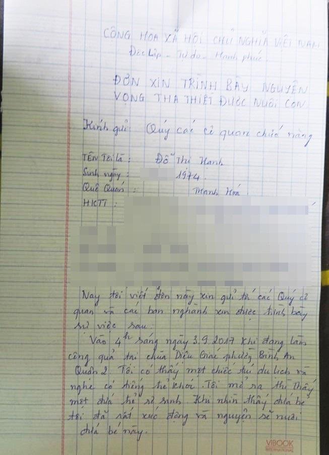 Cháu bé bị bỏ rơi ở cổng chùa: Nỗi buồn đau của chị giúp việc nghèo trước nguy cơ không được quyền nuôi trẻ sau 3 tháng cưu mang - Ảnh 5