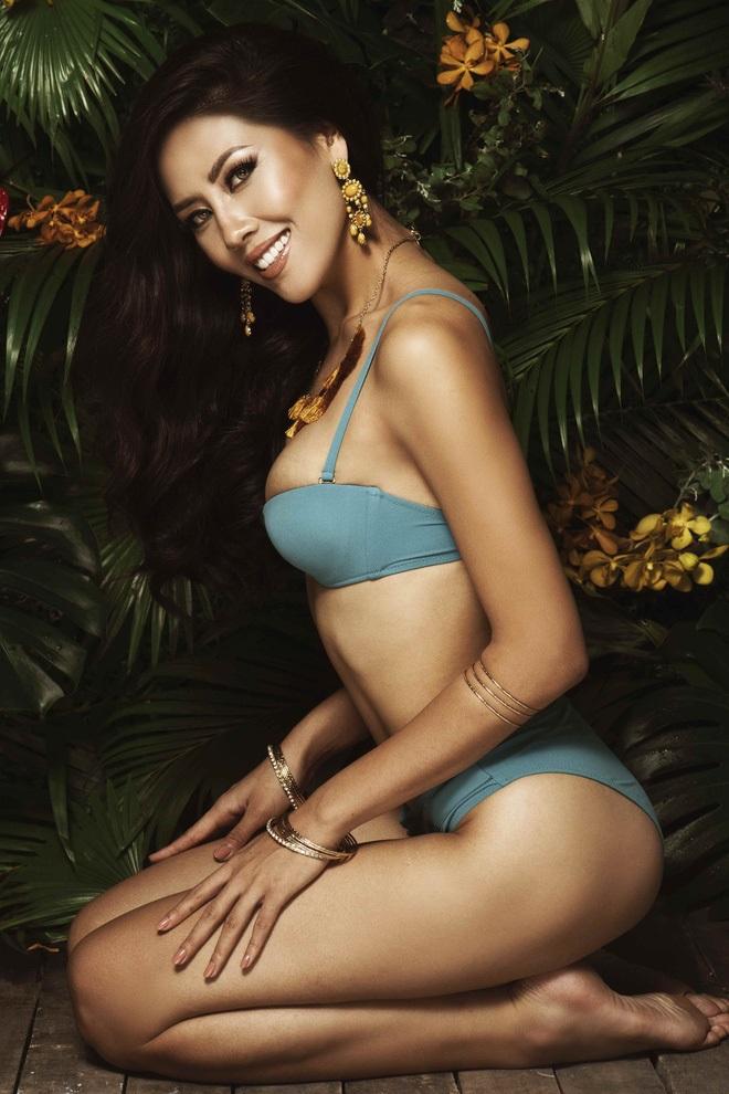 Những nàng da nâu mặc bikini chuẩn Tây của showbiz Việt - Ảnh 15