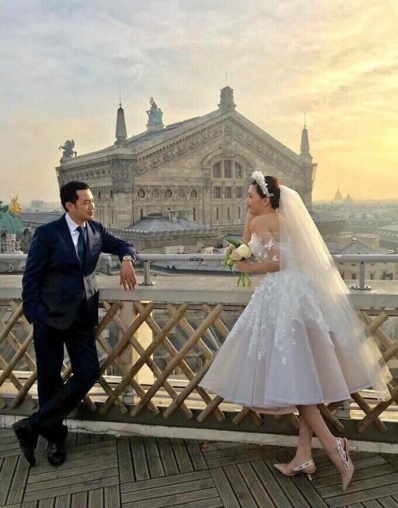 Ảnh cưới của nữ hoàng Sắc đẹp Toàn cầu Ngọc Duyên và bạn trai đại gia