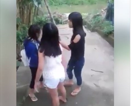 Nữ sinh lột đồ, đánh nhau trên phố từ bao giờ đã trở thành 'chuyện thường ngày ở huyện' ? - Ảnh 3